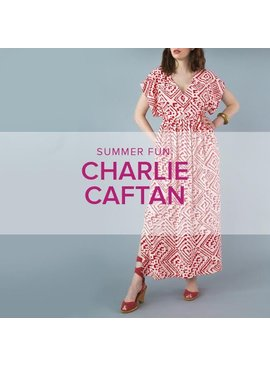 Erica Horton CLASS FULL Charlie Caftan, Wednesdays, July 18, 25 & August 1, 6 - 9 pm