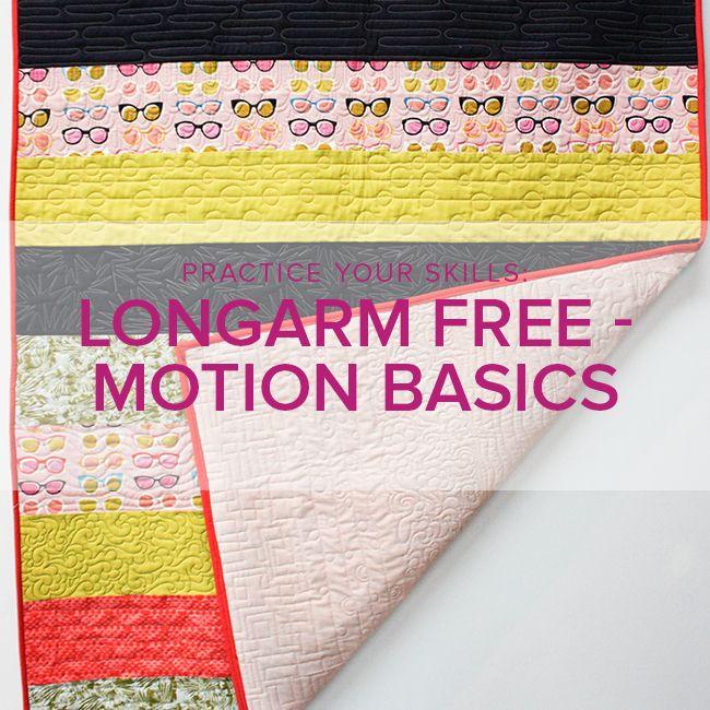 Modern Domestic BERNINA Q24 Longarm Freemotion Basics, Friday, June 22, 11 am - 1 pm