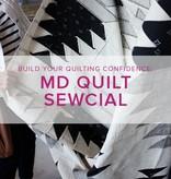 Modern Domestic Quilt Sewcial: Friday, June 8, 10 am -1 pm