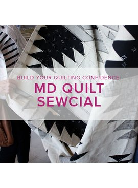 Modern Domestic Quilt Sewcial: Friday, June 8, 10 am -1 pm