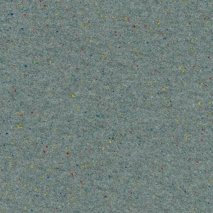 Robert Kaufman Speckle Cotton Jersey Charcoal