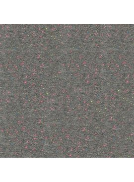 Robert Kaufman Speckle Cotton Jersey Grey