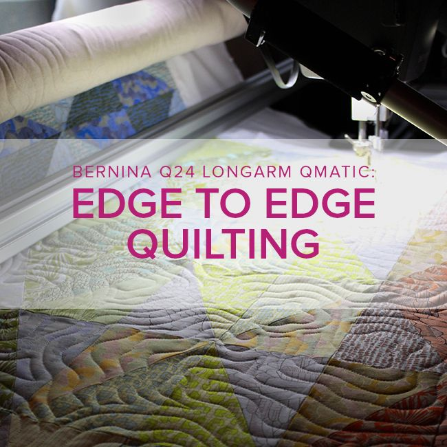 Modern Domestic Q24 Longarm Qmatic: Edge to Edge Quilting, Monday & Tuesday, June 25 & 26, 10 am -12 pm