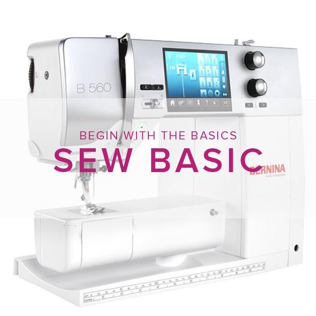 Modern Domestic Sew Basic, Sunday, July 8, 2 - 4 pm
