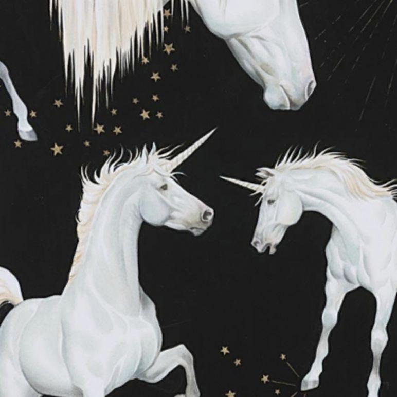 Alexander Henry Stars of the Unicorn Black