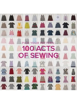 Jeanine Gaitan Learn to Sew Garments: 100 Acts of Sewing, Mondays August 13 & 20, 6 - 9 pm