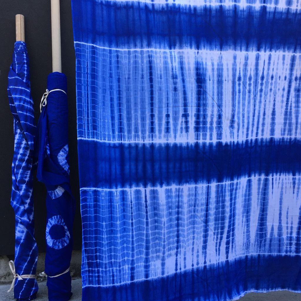 Textile Creations Wind Cave Shibori Stripe
