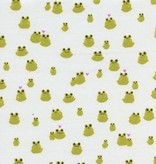 Cotton + Steel Front Yard by Sarah Watts Frogs Green