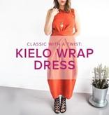 Jeanine Gaitan Kielo Wrap Dress, Tuesdays September 18, 25 & October 2, 6 - 8:30 pm
