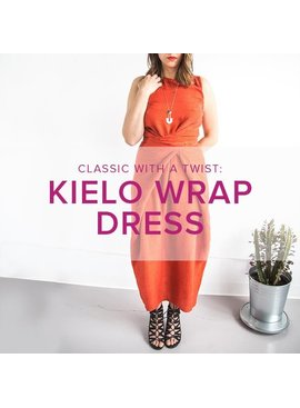 Jeanine Gaitan Kielo Wrap Dress, Tuesdays September 18, 25 & October 2, 6 - 8:30 pm
