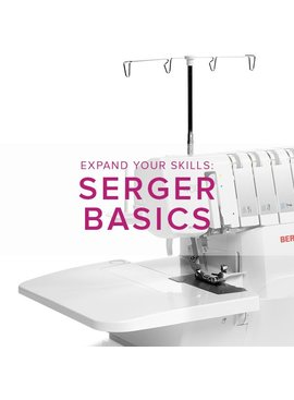 Modern Domestic MyBERNINA Serger Basic, Saturday, August 25, 10 am - 12:30 pm