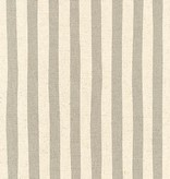 Robert Kaufman Sevenberry: Canvas Natural Stripes Grey