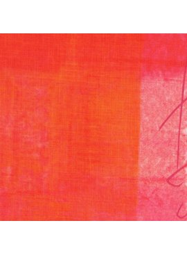 EE Schenck Nani Iro Linen Sheeting: Pipple Orange/Pink 100% Linen
