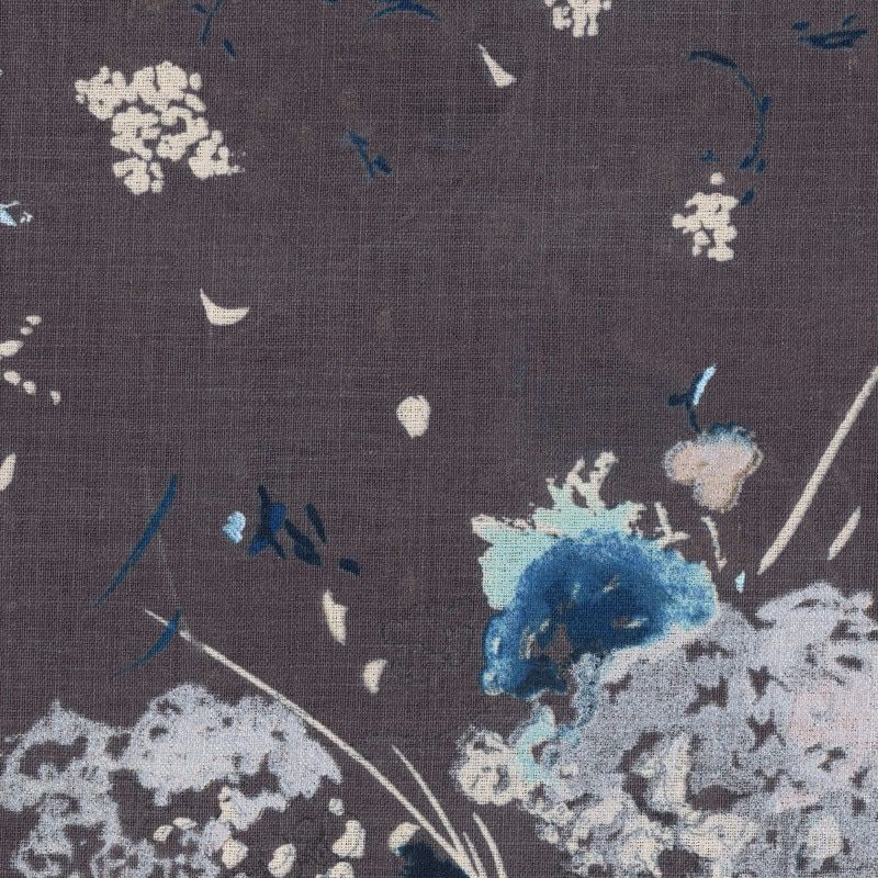 EE Schenck Nani Iro Linen Canvas: Encounter Grey 100% Linen