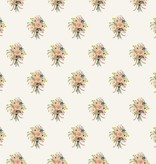 Cotton + Steel English Garden by Cotton + Steel/Rifle Paper Co. Bouquets Cream
