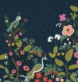 Cotton + Steel English Garden by Cotton + Steel/Rifle Paper Co. Growing Garden Navy