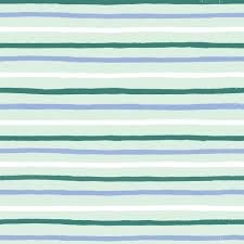 Cotton + Steel English Garden by Cotton + Steel/Rifle Paper Co. Stripes Mint