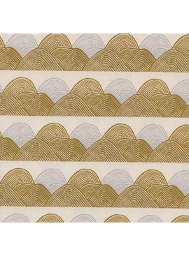 Cotton + Steel Imagined Landscapes by Jen Hewett Headlands Golden Hour