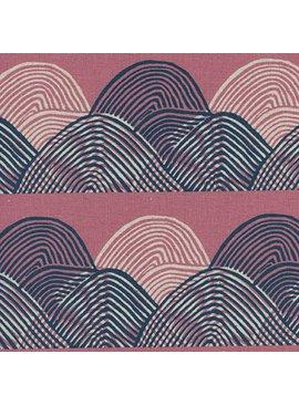 Cotton + Steel Imagined Landscapes by Jen Hewett Headlands Sunset