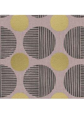 Cotton + Steel Imagined Landscapes by Jen Hewett Stone Path Rose Gold Metallic