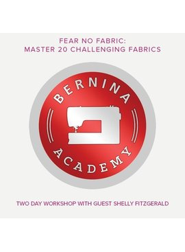 Modern Domestic BERNINA Academy Lake Oswego Location, Saturday & Sunday, October 13 & 14, 10 am - 5 pm with an hour lunch break