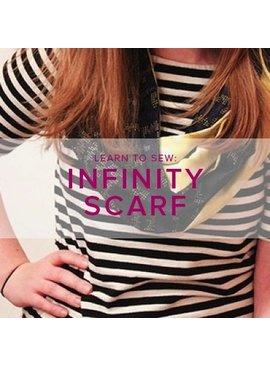Karin Dejan Learn to Sew: Infinity Scarf, Alberta St. Store, Saturday, October 27, 2-5pm