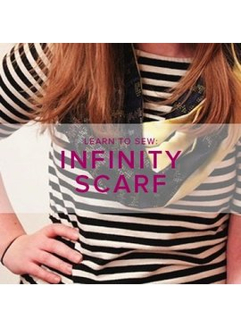Karin Dejan Learn to Sew: Infinity Scarf, Saturday, October 27, 10:30 - 1:30pm