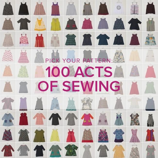 Jeanine Gaitan Learn to Sew Garments: 100 Acts of Sewing, Sundays, October 7 & 14, 6 - 9 pm