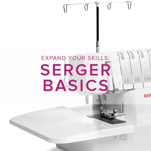 Modern Domestic MyBERNINA Serger Basic, Sunday, September 30, 11 am - 1:30 pm