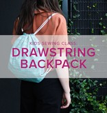 Mimi Loughney Kids After-School Sewing Class: Lined Drawstring Backpack, Tuesday and Wednesday, October 23 & 24, 3:30 - 5:30 pm