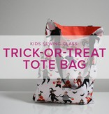 Mimi Loughney Kids After-School Sewing Class: Trick or Treat Tote! Thursday, October 18, 3:30 - 6:00 pm