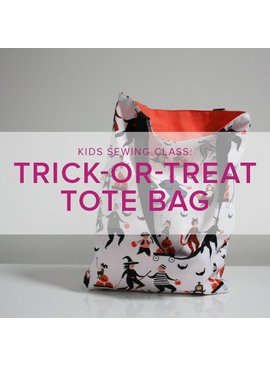 Mimi Loughney Kids After-School Sewing Class: Trick or Treat Tote!, Alberta St. Store, Thursday, October 18, 3:30 - 6:00 pm