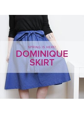 Karin Dejan Learn To Sew: Domnique Skirt, Alberta St. Store, Mondays, November 5 & 12, 6-9pm