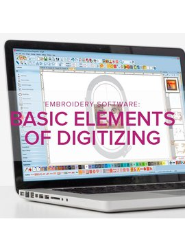 Shelley Caldwell CLASS FULL Machine Embroidery Software: Basic Elements of Digitizing, Alberta St. Store, Tuesday, October 30, 10:30am - 12:30pm