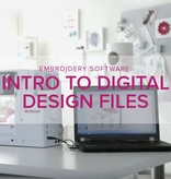 Machine Embroidery Software: Intro to Digital Design Files, Tuesday, October 23, 10:30am - 12:30pm