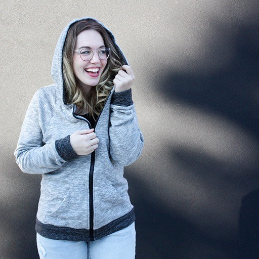 Erica Horton Zip-up Hoodie, Wednesdays, November 7, 14, & 28, 6-8:30 pm
