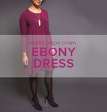 Karin Dejan Ebony Dress, Alberta St. Store, Sundays, November 25, December 2 & 9, 6-9pm