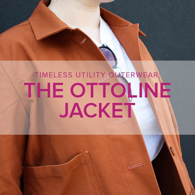 Jeanine Gaitan Ottoline Workwear Jacket, Thursdays, November 1, 8, & 13, 6-9pm