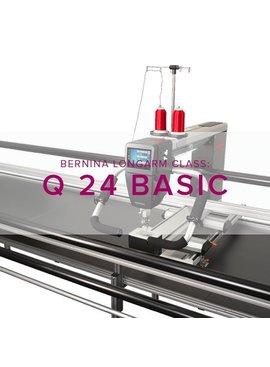 Modern Domestic BERNINA Q24 Class #1: Longarm Basic, Tuesday & Wednesday, October 16 & 17, 12:30 - 3 pm