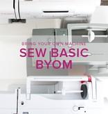 Sew Basic, BYOM (Bring your own machine!) Alberta St. Store, Tuesday, November 27, 6:00 - 8:30 pm