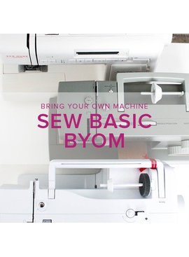 Sew Basic, BYOM (Bring your own machine!) Tuesday, November 27, 6:00 - 8:30 pm