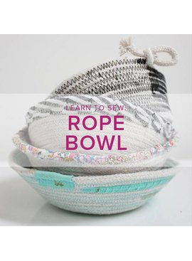 Rebekah Fink Learn to Sew: Rope Bowls, Alberta St. Store, Thursday, October 25, 6-9pm