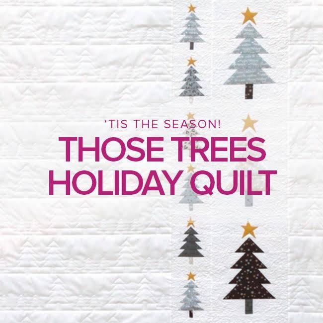 Rebekah Fink Those Trees Holiday Quilt, Alberta St. Store, Sundays, November 11, 18, & 25, 10:30am - 1:30pm