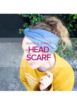 Jeanine Gaitan Quick and Easy Head Scarf, Alberta St. Store, Tuesday, December 4, 6-8:30pm