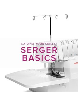 Modern Domestic MyBERNINA Serger Basic, Lake Oswego Store, Thursday, November 8, 11 am - 1 pm
