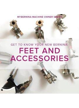 Modern Domestic MyBERNINA: Class #2 Feet & Accessories, Lake Oswego Store, November 19, 10 am - 12 pm