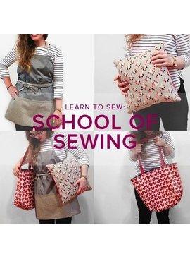 Karin Dejan Learn to Sew: School of Sewing, Lake Oswego Store, Wednesdays, November 28, December 5, 12, & 19, 6-9 pm