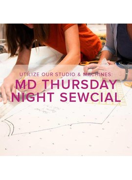 Modern Domestic Thursday Night Sewcial, Lake Oswego Store, Thursday, November 15, 5-8 pm