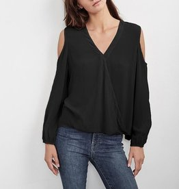 Velvet Velvet Ashia Cold Shoulder Blouse