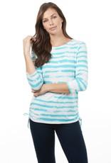 French Dressing Jeans French Dressing Jeans Cloud Stripe Tee